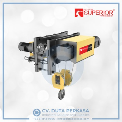 superior-wire-rope-hoist-type-sha7-low-headroom-dutaperkasa